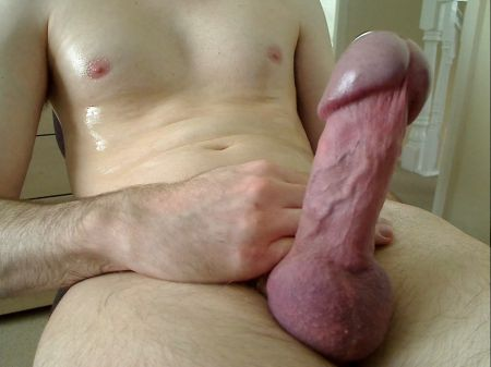 big headed dick Side pic/ view of my hard dick.
